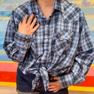 Ely Cattleman Western Button Up Pearl Snap Buttons